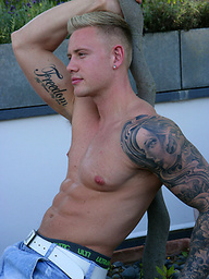 Rugby Hunk and Personal Trainer Callum Stuart - Favourite Straight Blond Returns!