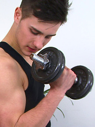 Young & Straight Personal Trainer Joel - Work Out Your Uncut One This Frequently & You to can be This Hard!