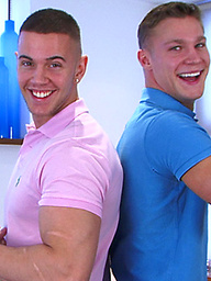 Straight Hunks Scott and Zack Playing Around with Each Other!