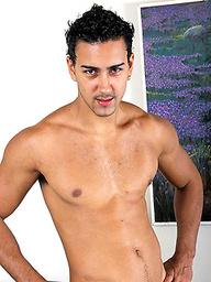 Felipe Herroro jacking off his latin cock