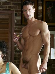 Hot muscled hunks Brett