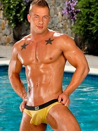 Rod Daily naked outdoors