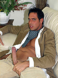 Saucy French painting gets Marcello in the mood for a long wank