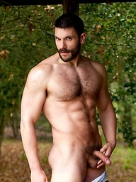 Bob Hager shows his perfect musce body