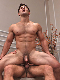 Horny muscle studs Raymond and Pavel fucking
