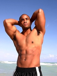 Ebony muscle stud Jason Taylor