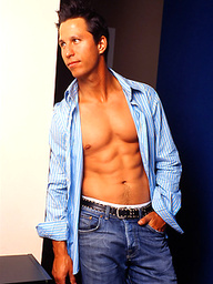 Sexy fitness model Brody Mitchell