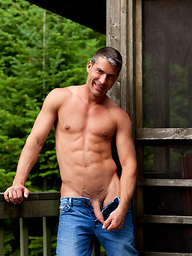 Dominic Valentine posing outdoors
