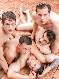 Dallas and Friends Convinced Zeb for an Orgy