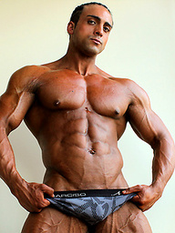 Super tan, super cool, super ripped, and super hung! Mauro Marinello.