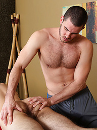 Massage-room ass fucking