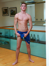 Cheeky Young Personal Trainer Leigh Knows How to Show off his Body & Work his Hole!