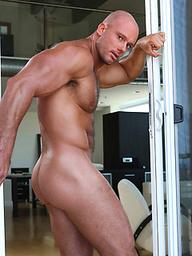 Muscle god Apollo Phoenix naked