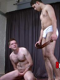 Sadistic school bully Master Charlie  humiliates sub Elliott like never before.
