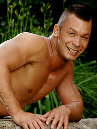 John Sebastian posing naked