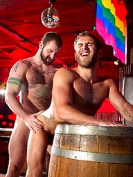 Aleks Buldocek and Shawn Wolfe