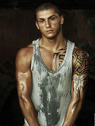 Hot muscled italian boy Luca