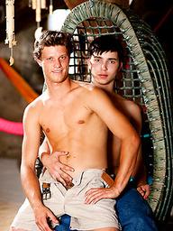 Danek and Dima fucking