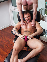 Gay Muscle Hunks Austin Wolf and Kurtis Wolfe fuck each other