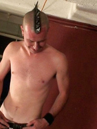 Mohawk Punk With Thick Long Dick
