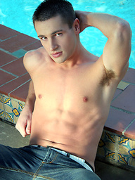 Hot brunette Raymond naked