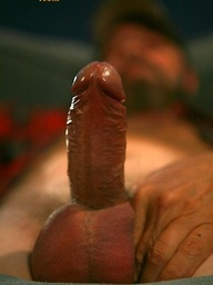 Rocky Nelson plays with his cock