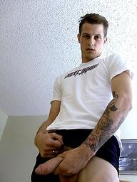 Hot amateur Dan jacking off