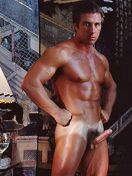 Vintage pics of Mike Betts and Rick Wolfnier naked