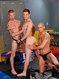Joey Hard, Andras Styles and Steven Shields threesome fuck