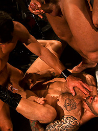 David Anthony and Francois Sagat with Junior Stellano Incubus 2 The Final Chapter Scene 1