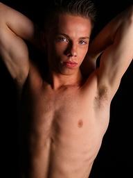 Marek: Hot twink jacking off and posing naked