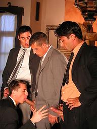 Carlos Montenegro, Jordi Casal, Alex Brinsky - oral sex scene
