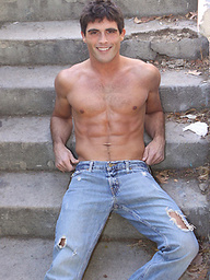Hot college studs Lance naked