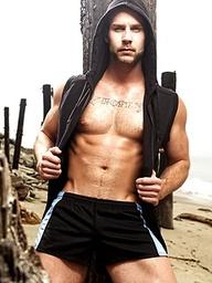 Hot bonus photos of the incredibly sexy Chris Bines.