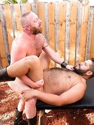 Lanz Adams and Dalton Hawg