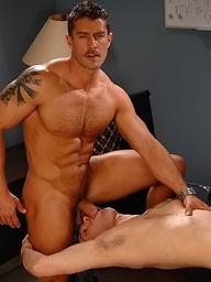 Sucking Cody's cock