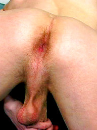 Chris shows his big cock and ass