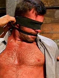 Mr Morgan Black is taken, beaten, edged and milked.