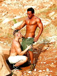 Niko and Antton Harri outdoor facial
