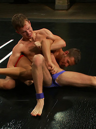 Shane Frost and Zach Alexander hit the mat hard and fuck even harder.