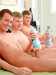 Hot twins Cody Parker, Chase Harding and Preston Burgess in a threesome action