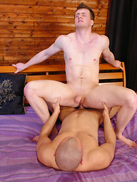 Sexy hung stud gets his tight straight ass fucked