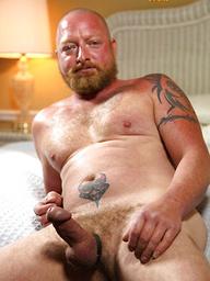 Old bear with red beard Kirby
