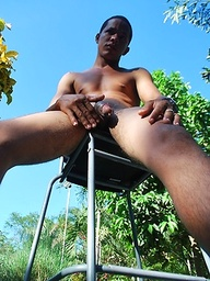 Domingo - very hot young Latino with a thick uncut Latin cock