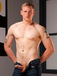 Brandon Bangs posing naked