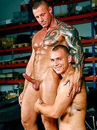 Steve Hunt and Jack Dragon naked
