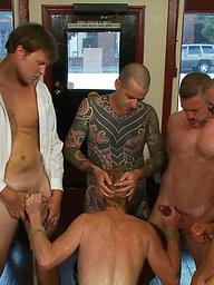 Vennue and The Gay Mafia. Vennue Longhorn,Brenn Wyson.