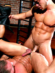 Bo Knight and Carlos Morales
