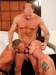 Randy Harden, Mason Garet and Preston Johnson