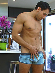 Carl is Doug\'s Brother - Older, More Muscular & a Fetish for Vegetable Sex Toys!